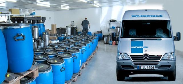Jens Löwe, Wasseraufbereitung, Reinigungssysteme und Regenerationsservice, Berlin - Laborwasser, Ionenaustauscher, Osmoseanlagen, Reinstwasser-Herstellung, Wasserfilter, Wasserreinigung, VE-Wasser uvm.